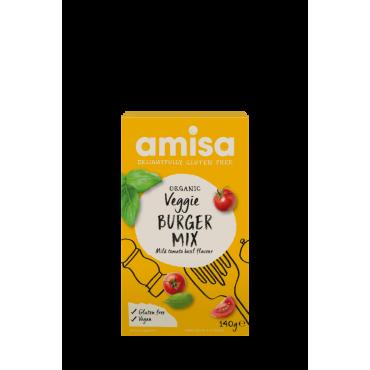Amisa Veg Burger Mix Gluten Free 6x140g