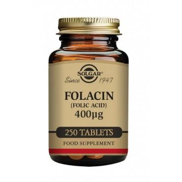 Solgar Folacin (Folic Acid) 400 mcg 250 Tablets
