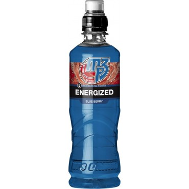 MP3 Drinks Energized Blueberry 12 x 500ml