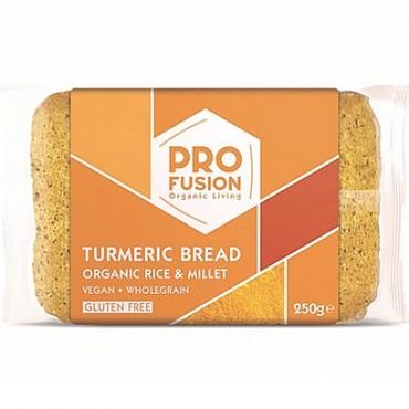 Profusion Organic Turmeric Rice Bread 250g