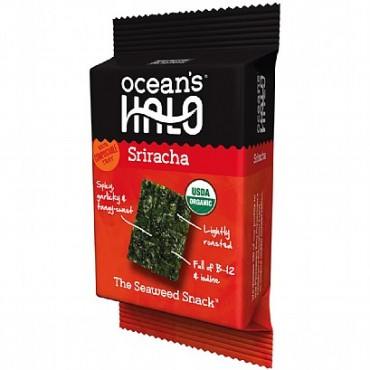 Ocean's Halo Sriracha Seaweed Snack 4g