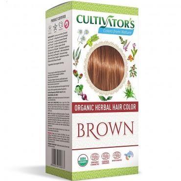 Cultivators Organic Light Brown Hair Colour