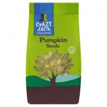 Crazy Jack Organic Pumpkin Seeds 9 x 100g