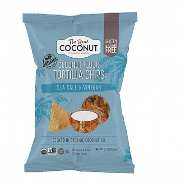 The Real Coconut Salt & Vinegar Chips 155g