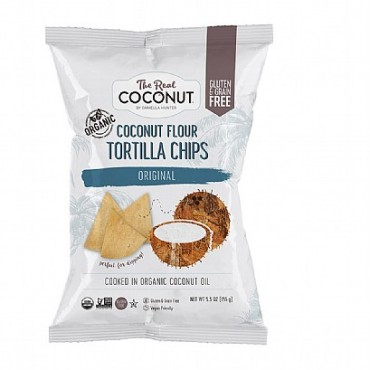 The Real Coconut Beach Original Tortilla Chips 155g
