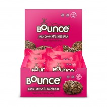 Bounce Dark Chocolate Raspberry 12 x 40g