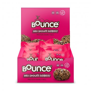 Bounce Dark Chocolate Raspberry 12 x 40g