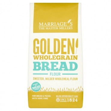 WH Marriage Golden Wholegrain Bread Flour 1kg
