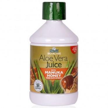 Aloe Pura Aloe Juice With Manuka Honey 500ml