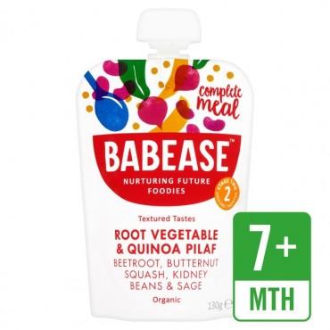 Babease Root Vegetable & Quinoa Pilaf 6x130g
