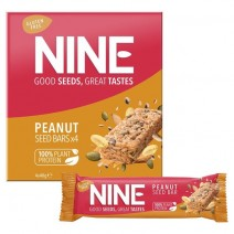 NINE Peanut Seed Bar 12x4x40g