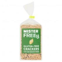 Mister Freed Gluten Free Sesame & Chia Crackers 200g