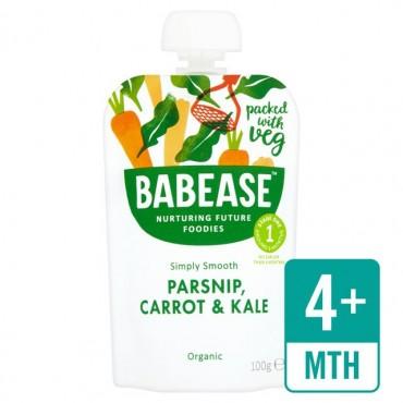 Babease Parsnip, Carrot & Kale 8x100g