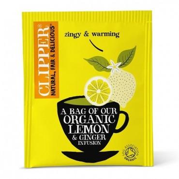 Clipper Lemon Ginger 250's
