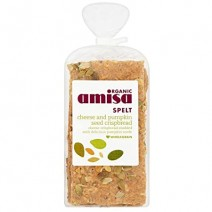 Amisa Cheese Pumpkin Crispbread 6 x 200g