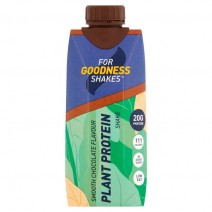 For Goodness Shakes Plant Protein Chocolate 330ml