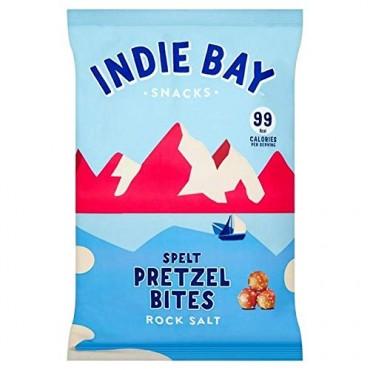 Indie Bay Spelt Pretzel Bites Rock Salt 160g