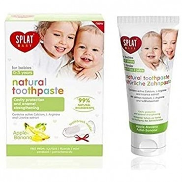 Splat Toothpaste For Babies Apple Banana 12 x 40ml
