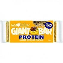 Ma Baker Giant Bar Protein Banana Chocolate Flapjack 20 x 90g