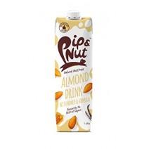 Pip & Nut Almond Drink with Honey & Vanilla 1Litre