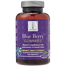 New Nordic Blue Berry Gummies 60