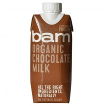 Bam Organic Chocolate Milk 330ml