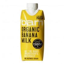 Bam Organic Banana Milk 330ml