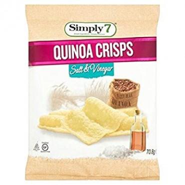 Simply 7 Quinoa Crisps Salt & Vinegar 70.8g