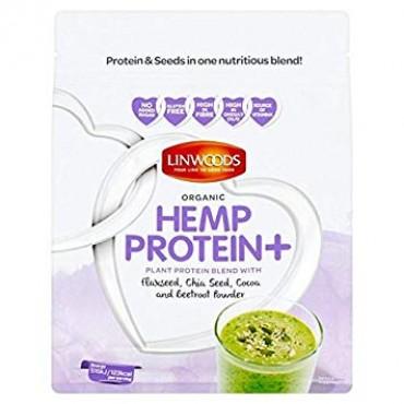 Linwoods Organic Hemp Protein + Flaxseed, Chia Seed, Cocoa & Beetroot Powder 360g