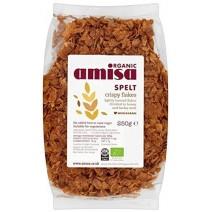 Amisa Crispy Spelt Flakes Organic 6 x 250g