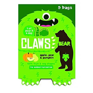 Bear Claws Apple, Pear & Pumpkin 18g