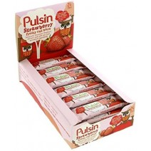 Pulsin Strawberry Oat Bar 24 x 25g