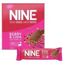 NINE Berry & Chia Seed Bar 12x4x40g
