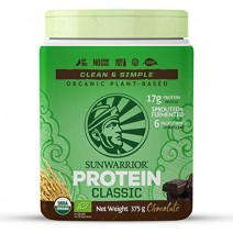 Sunwarrior Classic Protein Organic Chocolate 375g