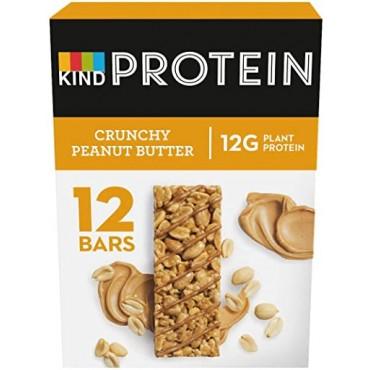 KIND Crunchy Peanut Butter Protein Bars 50g x 12