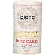 Biona Organic Rice Cakes No Salt 12 x 100g