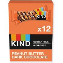 KIND Peanut Butter & Dark Chocolate Bar 40g x 12