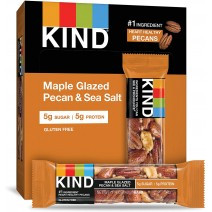 KIND Maple Glazed Pecan & Sea Salt Bars 40g x 12