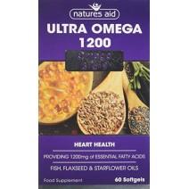 Nature's Aid Ultra Omega 1200 60 Caps
