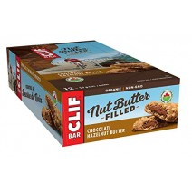 Clif Chocolate Hazelnut Butter Filled Bars 12 x 50g