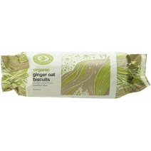 Doves Farm Organic Ginger Oat Biscuits 12 x 200g