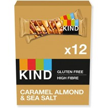 KIND Caramel Almond & Sea Salt Bar 40g x 12