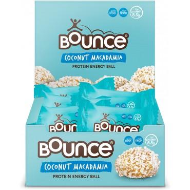 Bounce Balls Coconut & Macadamia 12x40g