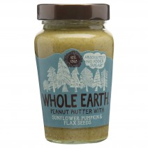 Whole Earth Peanut Butter with Sunflower, Pumpkin & Flaxseeds 340g