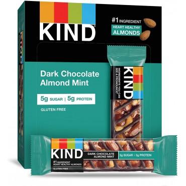 Kind Dark Chocolate Almond Mint 40g x 12