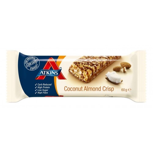 Atkin S Coconut Almond Crisp Bar 60g
