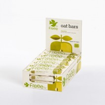 Doves Farm Freee Organic Apple Oat Bars with Sultanas 18 x 35g