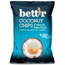 Bettr Sea Salt Coconut Chips 8 x 40g