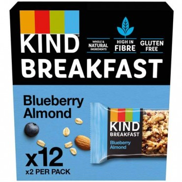 Kind Blueberry Almond Breakfast 50g x 12