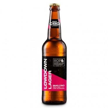 Hop & Hemp Brew Co 8mg CBD 0.5% ABV Low Alcohol 12 x 330ml